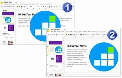 Text Wrap Google Slides Steps Boxes Wrapping