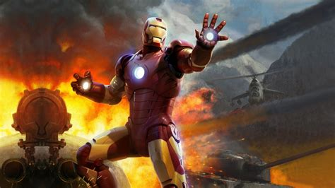Age Of Ultron Wallpapers War Iron Man Fire Concept Art Marvel Comics Mi 24 Wallpapers