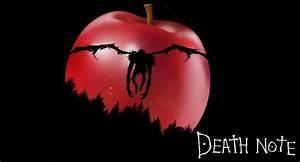 Ryuk apple death note wallpaper | death note | Pinterest ...