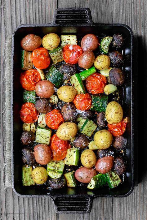 italian oven roasted vegetables recipe roasted