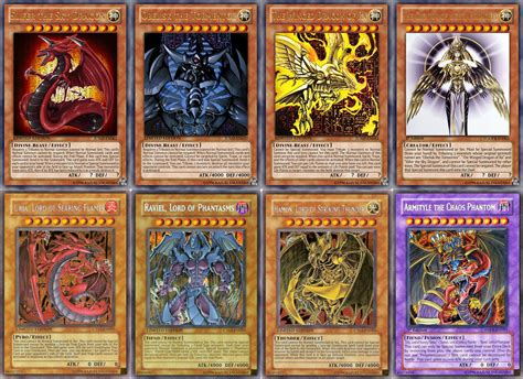 Yu Gi Oh Powerful Monsters And Cards In Each Generation