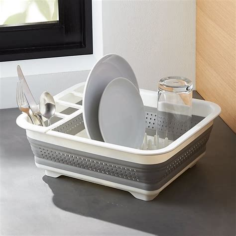 Madesmart ® Collapsible Dish Rack   Crate and Barrel