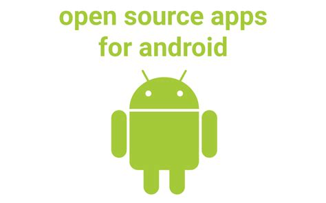 open source android apps androidorg