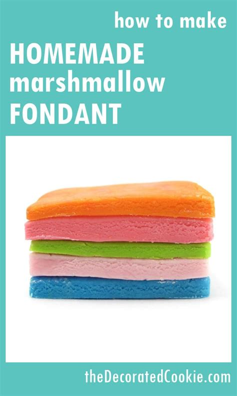 how to make marshmallow fondant homemade marshmallow fondant the decorated cookie