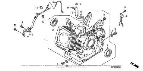 Honda Engines Gxr Vde Engine Jpn Vin Gcank