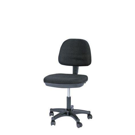 siege dactylo siège dactylo noir sans accoudoir 48 5x53x44 5cm sièges