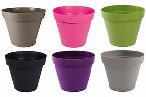 Pot Fleur Plastique : gamme de pots de fleurs toscane pop eda 6 litres debonix ~ Premium-room.com Idées de Décoration