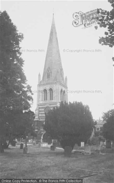 Wellingborough, All Hallows Parish Church c.1955 - Francis