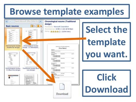 How To Resume Templates In Microsoft Word 2010 by Accessing Resume Templates In Word 2010