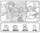 Hidden Objects Printable Coloring Pages Object Easy Printables Printablee sketch template
