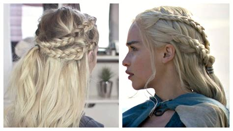 khaleesi hairstyle tutorial fade haircut