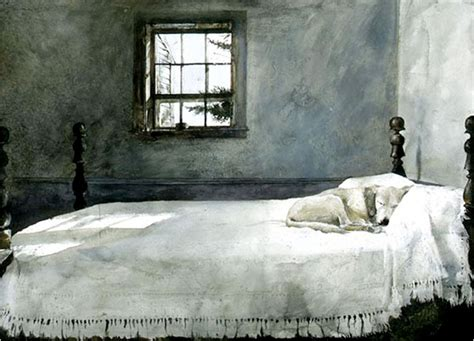 andrew wyeth master bedroom print framed the debate over andrew wyeth s art continues the new 20215 | wyethbed.lrg