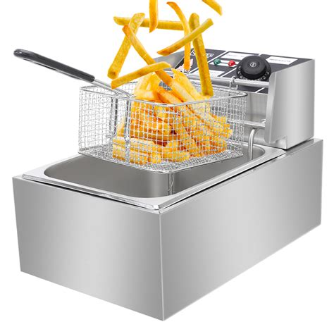 fryer french deep restaurant cooker fry fast food electric