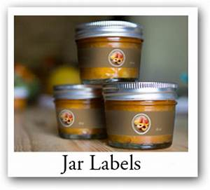food labels and craft stickers custom design food bag With canning supplies labels