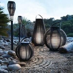 Luminaire Exterieur Solaire : lanterne solaire haute jardiland balcon et terrasses pinterest ~ Teatrodelosmanantiales.com Idées de Décoration