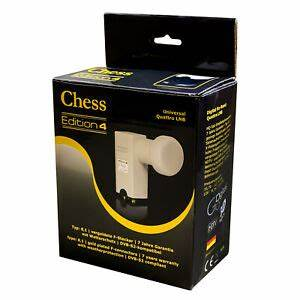 Quattro Lnb Multischalter : chess quattro lnb edition 4 f r multischalter digital full ~ Watch28wear.com Haus und Dekorationen