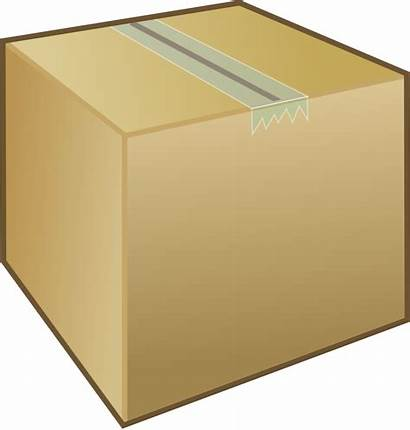 Package Clipart Clip Box Vector