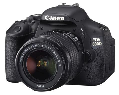 canon eos 600d 18mp dslr the register