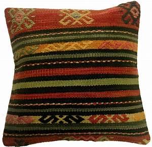 coussins kilim housse de coussin 40 x 40 cm With tapis kilim avec housse de canapé matelassé
