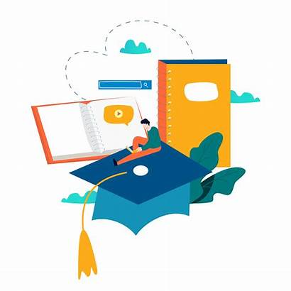 Education Vector Training Courses Illustration Learning Graphics