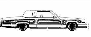 lowrider coloring pages bestofcoloringcom With white cadillac cts6