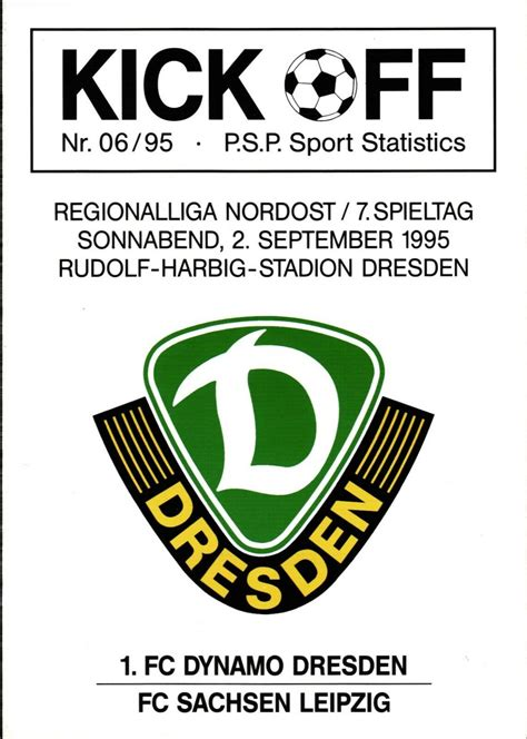 Below you find a lot of statistics for this team. File:Historical Logo 1. FC Dynamo Dresden (1990-2002).png ...