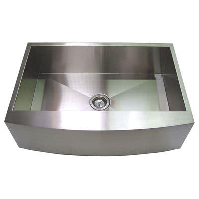 stainless apron front sink 30 stainless steel zero radius kitchen sink curve apron