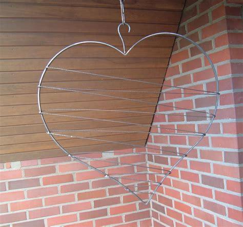 Herz Aus ästen Selber Machen by Xl Gro 223 Es Herz Aus Metall Mit Draht Umwickelt Handarbeit