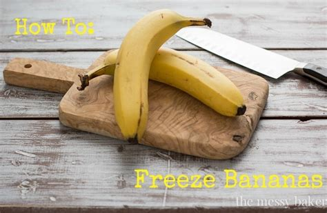 how to freeze bananas how to freeze bananas the messy baker blog