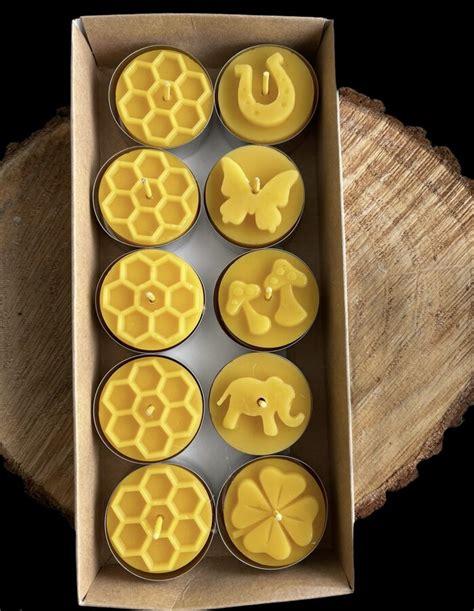 Bišu vaska tējas veces Nr.1 - komplekts gatavs dāvināšanai ...