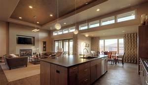 design ideas how to arrange an open floor plan furniture With open floor plan kitchen design