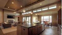 magnificent modern kitchen plan Design Ideas. How To Arrange An Open Floor Plan Furniture ...