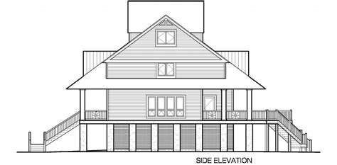 winds cottage  gable roof dormers  sf southern