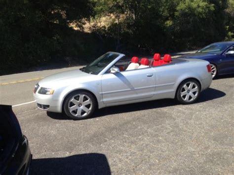 audi 4 door convertible buy used 2005 audi s4 cabriolet convertible 2 door 4 2l in