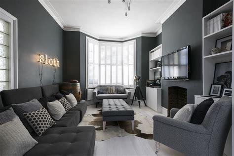Black Red Grey Colour Scheme Living Room Fancy Home Design