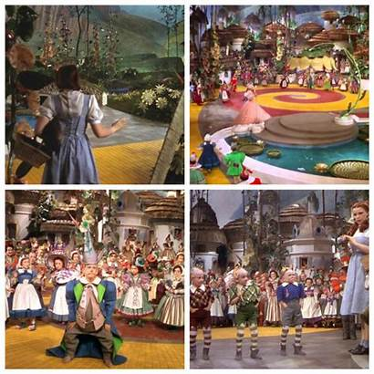 Wizard Oz Clipart Collage Munchkins Munchkin Transparent