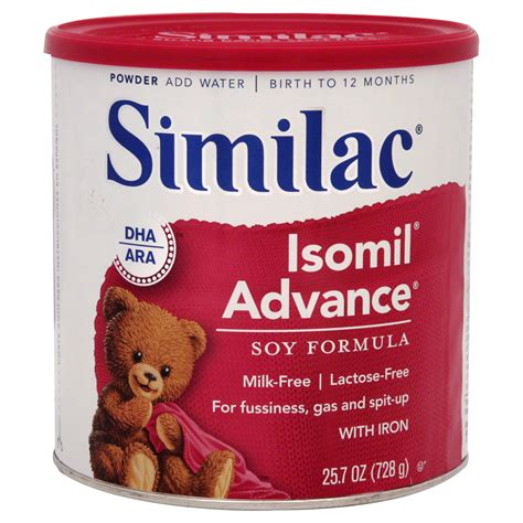Similac Isomil Advance Formula Soy With Iron Powder 25