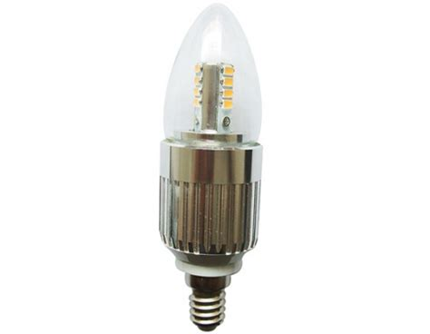 omailighting 174 led candle bulb dimmable 7 watt e14 base for