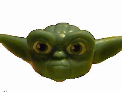 Yoda Head Lego Wars Star Head2 Transparent