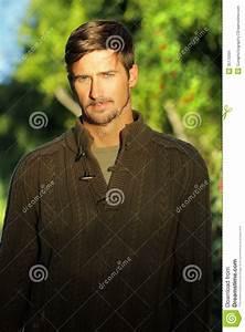 Man Outside Stock Image