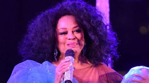 Diana Ross Afro