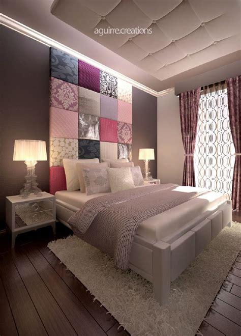 papier peint pour chambre à coucher inspirations têtes de lits originales visitedeco