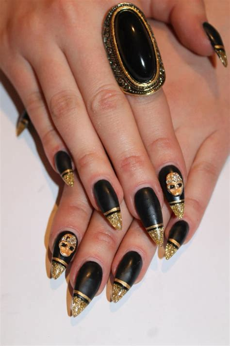 gold nail designs 36 trendy nails with golden designs