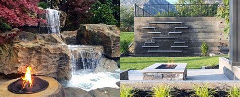 top   backyard waterfalls water feature design ideas