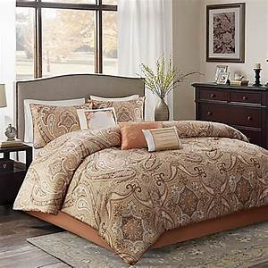 yvette comforter set in coral bed bath beyond With bed bath and beyond california king comforters