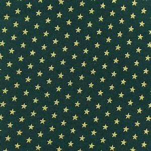 Tissu De Noel : tissu no l petites toiles dor fond vert sapin x 10cm ~ Preciouscoupons.com Idées de Décoration