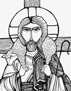 Good Shepherd Drawing Bw Pictures to Pin on Pinterest ...