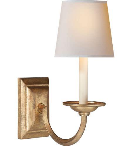 visual comfort sconces visual comfort chd1495gi np e f chapman flemish 1 light