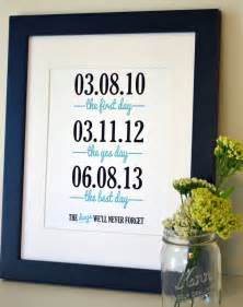 wedding gift ideas for already living together wedding sign print 11x14 the day the yes day anniversary gift for husband gift for
