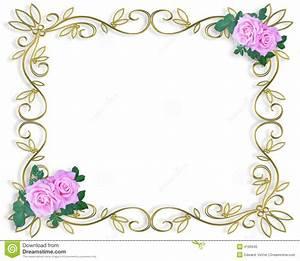 7 best images of free printable wedding invitation borders for Wedding invitation page borders free download
